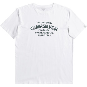 Quiksilver Wider Miless SS Tee Men, white